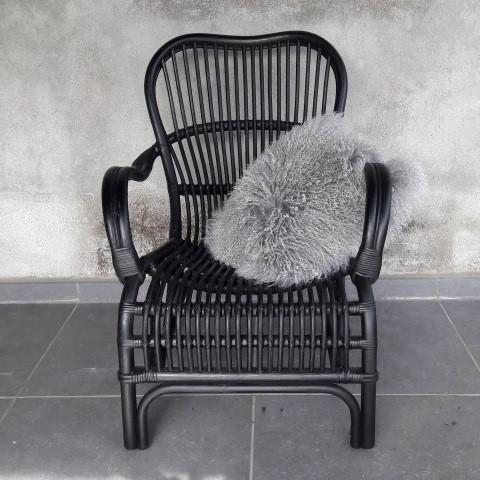 Rotan stoel Lucas - LuLu wonen en slapen, maak van je huis je thuis!