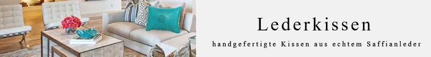 Mina Design Lederkissen Leder Kissen braun Sitzkissen Zierkissen Sofakissen leather cussion pillow coussin en cuir