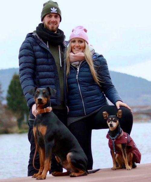 Jonas und Michelle mit Jumar und ZP Tshio ;-))