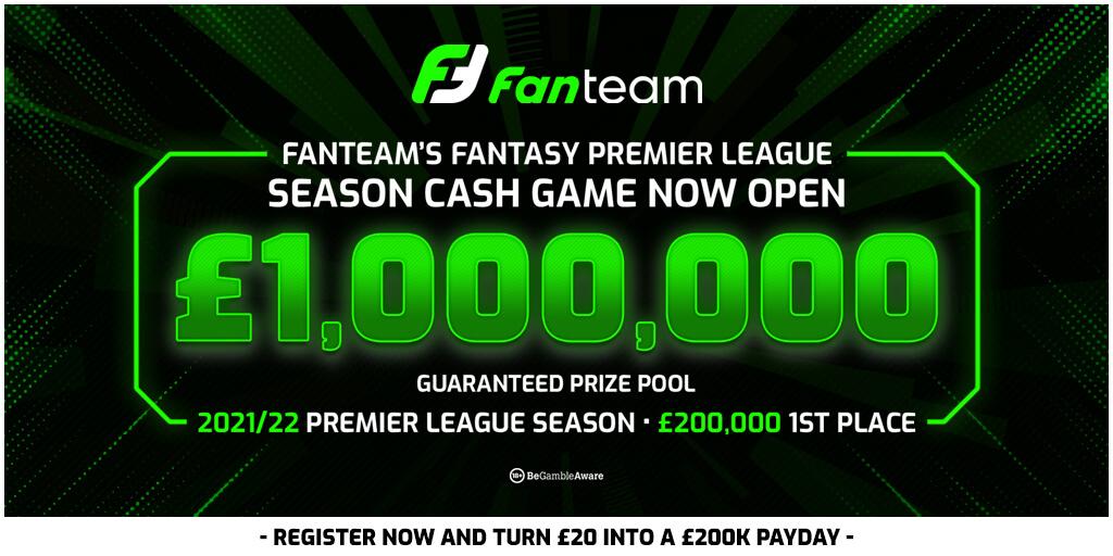Fantasy-Premier-League Full-Season-Turnier 2021/2022 auf FanTeam