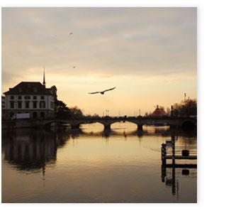 Limmat mit Münsterbrücke