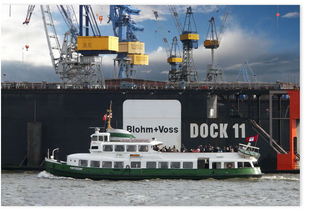 Hamburgensie 045 Blohm + Voss Dock 11