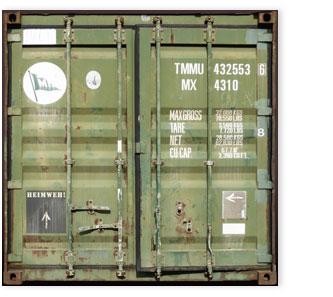 """Container grün 203, """"Heimweh!"""""""