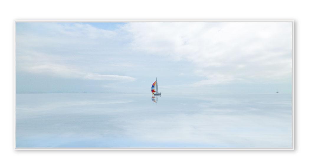 Segelboot auf dem Zürichsee 001
