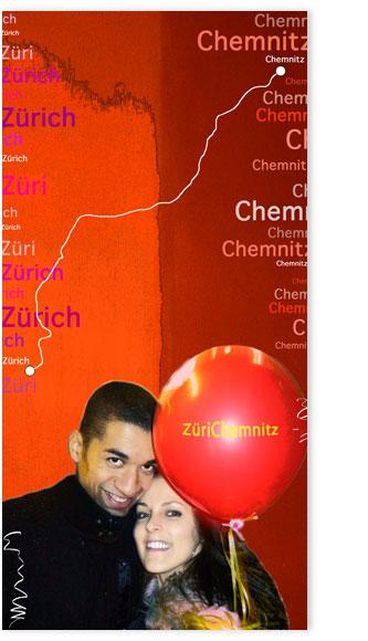 """Kundenbildbearbeitungsbeispiel """"ZüriChemnitz"""""""