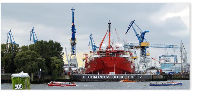 Hamburgensie 122c, Blohm + Voss Dock Elbe 17