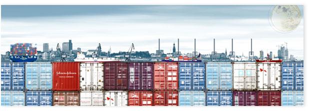 Hamburgensie 102a, Containerhafen
