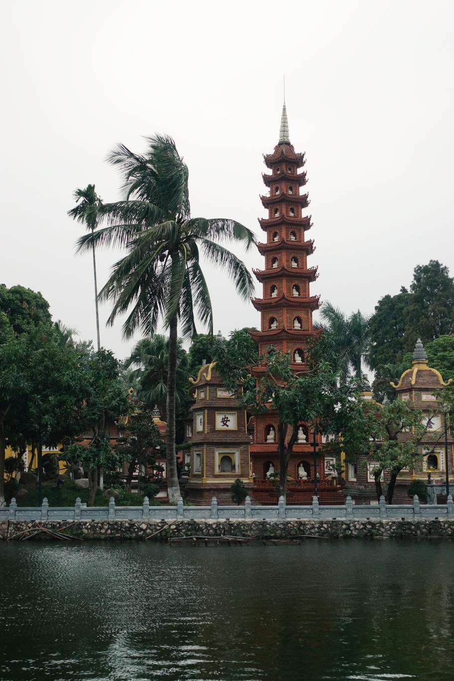 Hanoi: Pagode