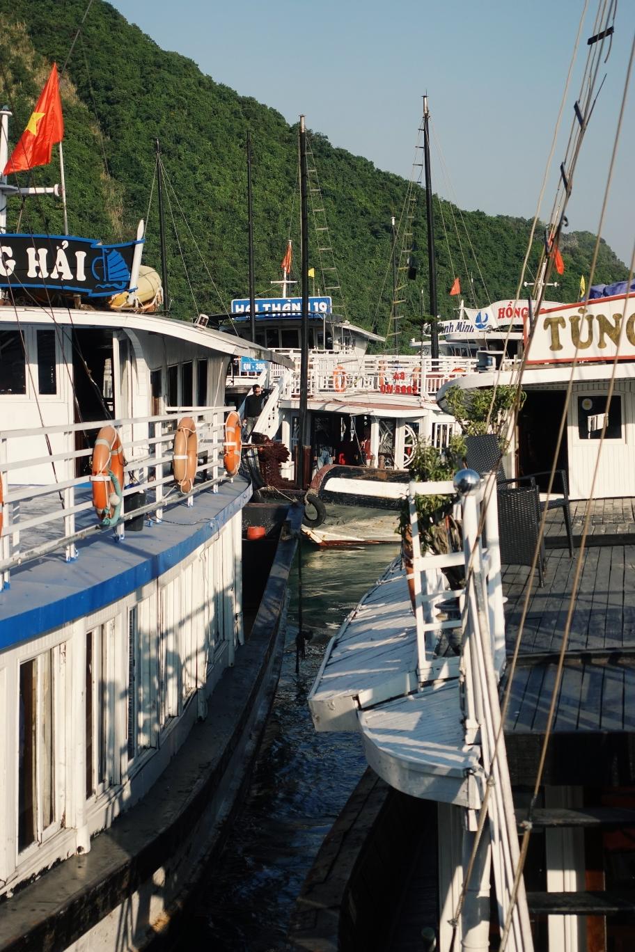 Halong Bucht: SO viele Touristen