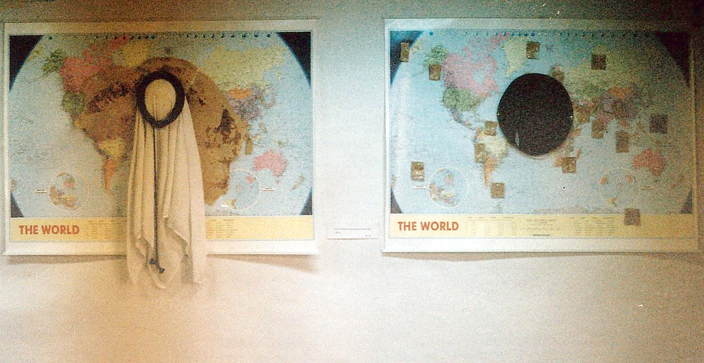 Two Worlds, Installation, 1998