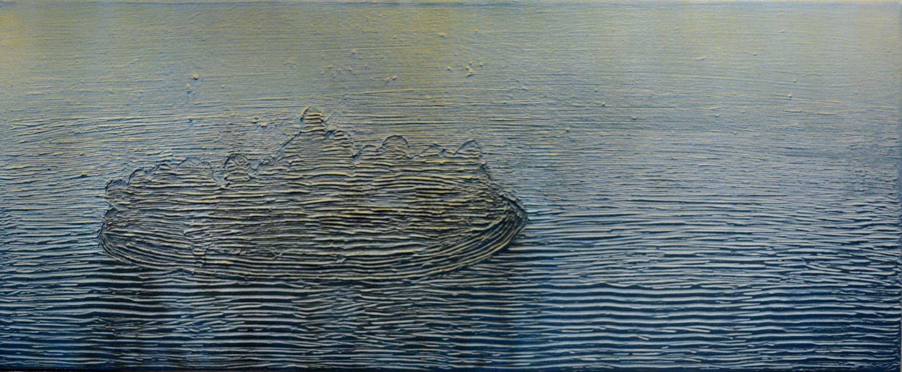 Migration, 120 x 50 cm, Mixed media, 2017