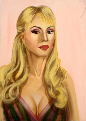 Pnina Rosenblum, Acrylic on canvas, 70 x 100 cm, 2006