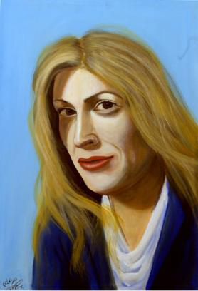 Inbal Gabrieli, Acrylic on canvas, 70 x 100 cm, 2006