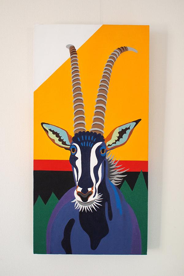 Zimbabwe: Sable Antelope (300×600)