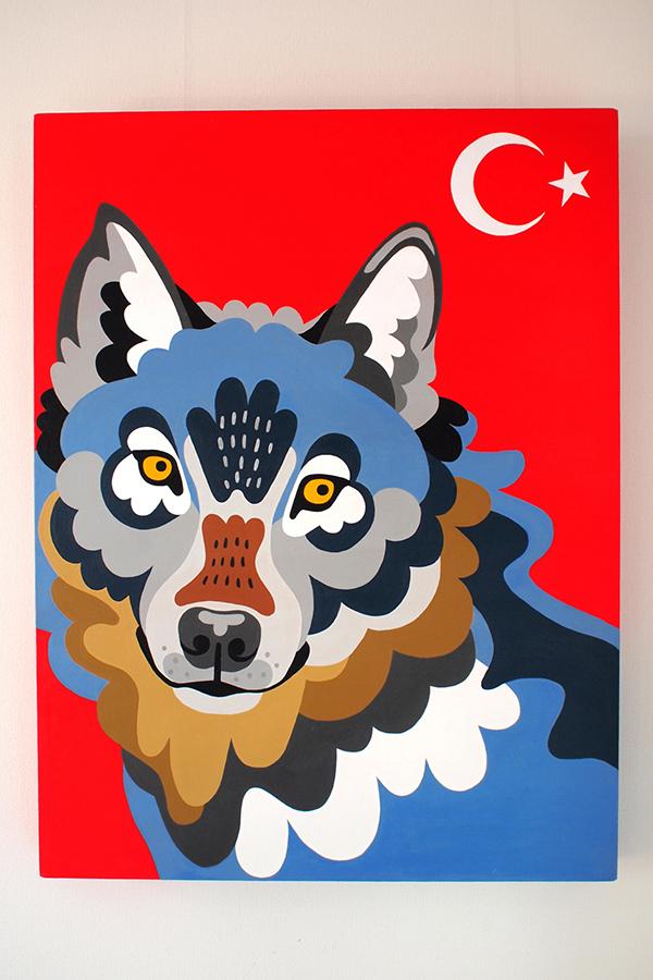 Turkey : Grey Wolf (606×803)