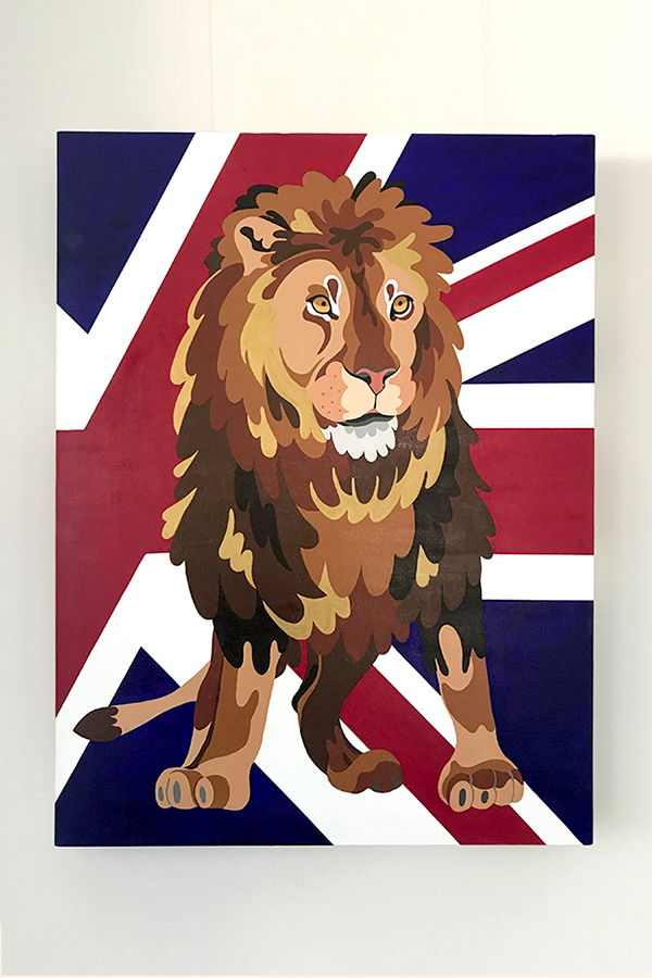 United Kingdom: Lion (606×803)