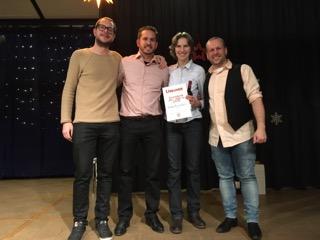 Sportlerin des Jahres GTSV Frankfurt: Verena Fleckenstein (Deutsche Einzelmeisterin, Deutsche Doppelmeisterin, Europameisterin Doppel & Bronze Europameisterin Mixed)