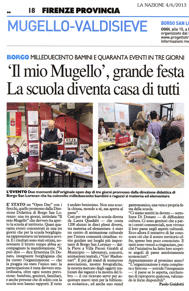 La Nazione - 4/6/2013