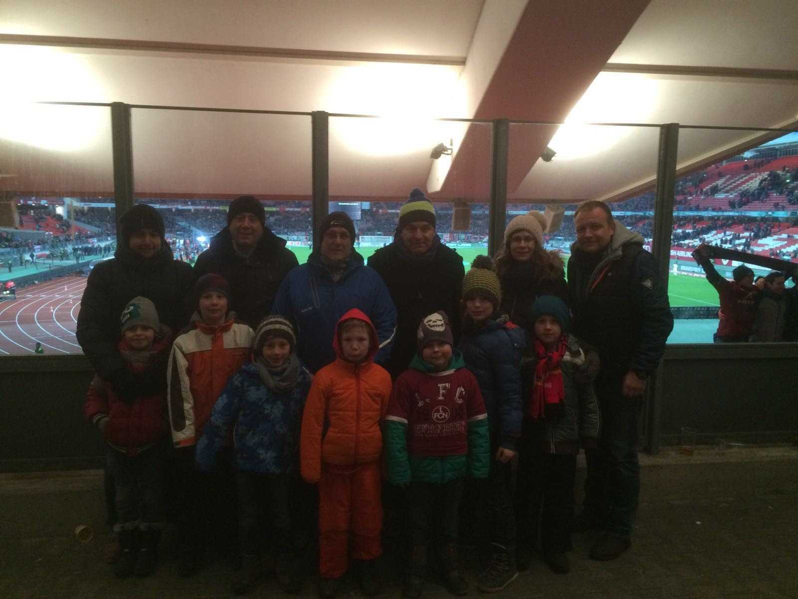 Besuch der Spiels FCN - 1.FC Kaiserslautern