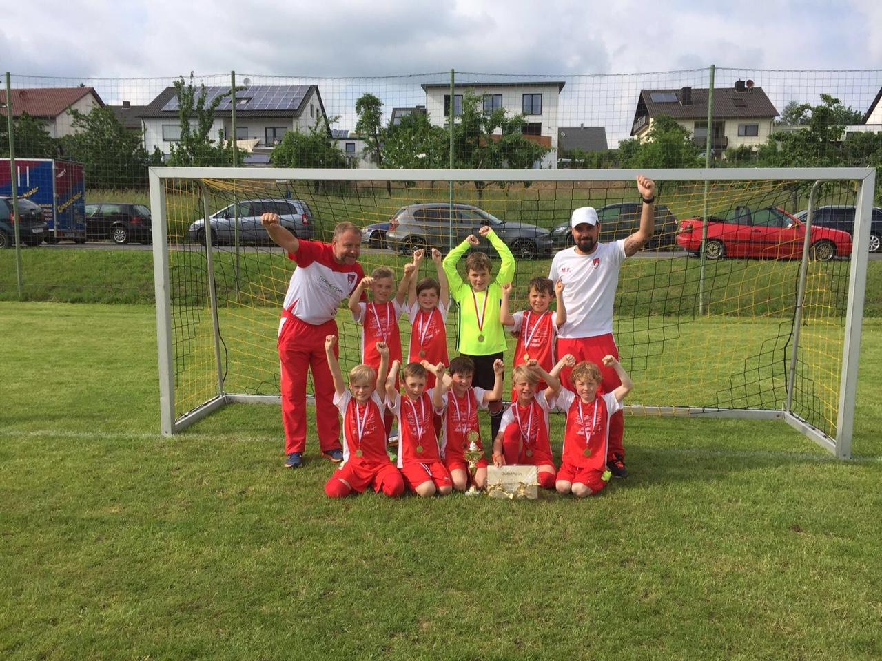 28.06.2016 U9 Ploppelcup -Sieger 2016 in Eckartshauen