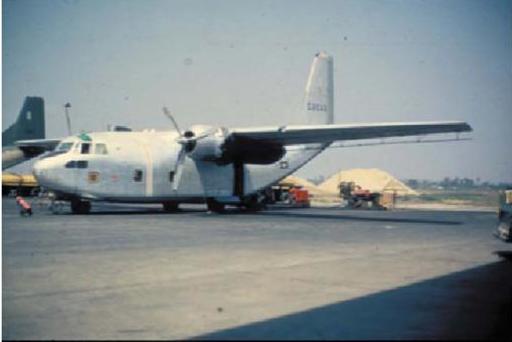 06 Mit solchen UC-123-Maschinen (hier der «Silver Bug Bird»)wurden die giftigen Pestizide versprüht.