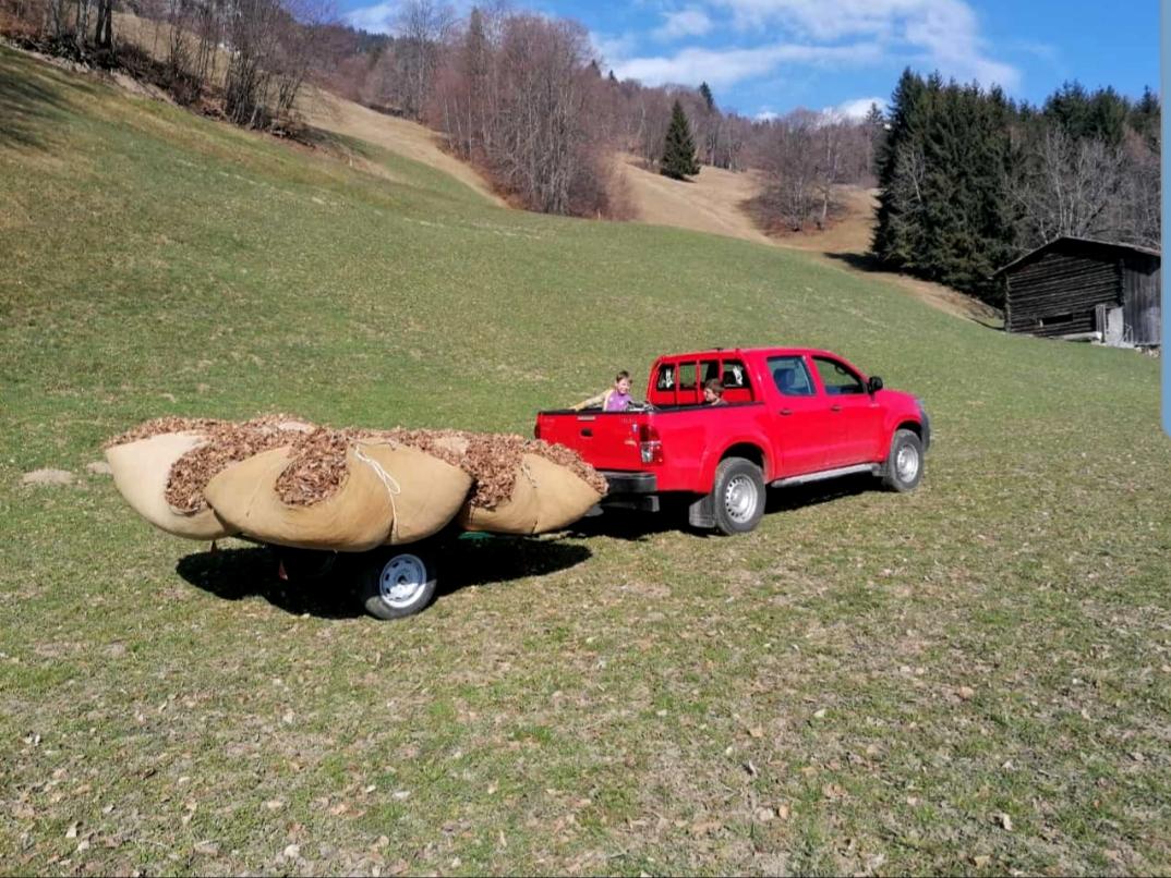 Toyota Hilux im Einsatz
