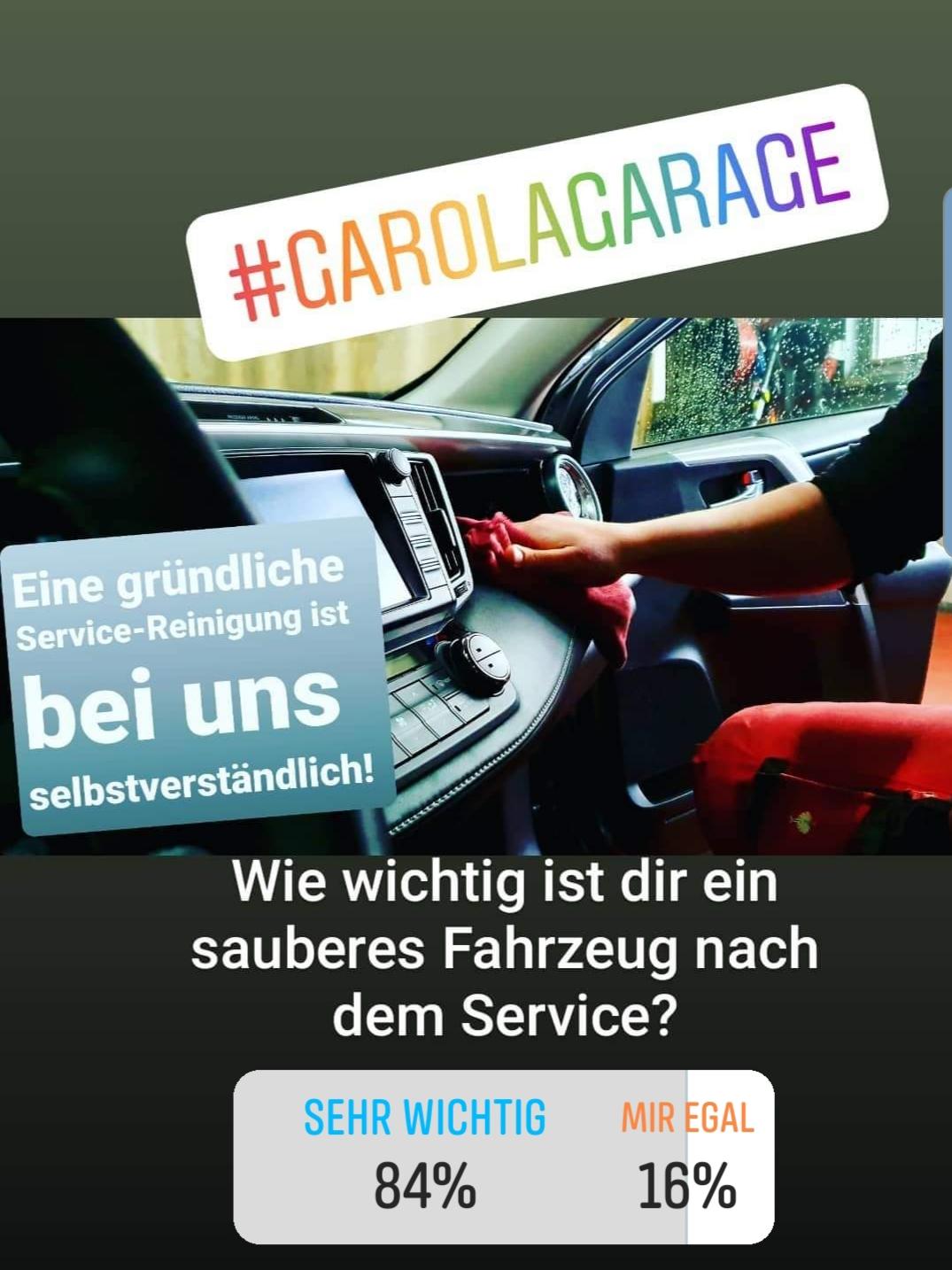 Garola-Garage Umfrage