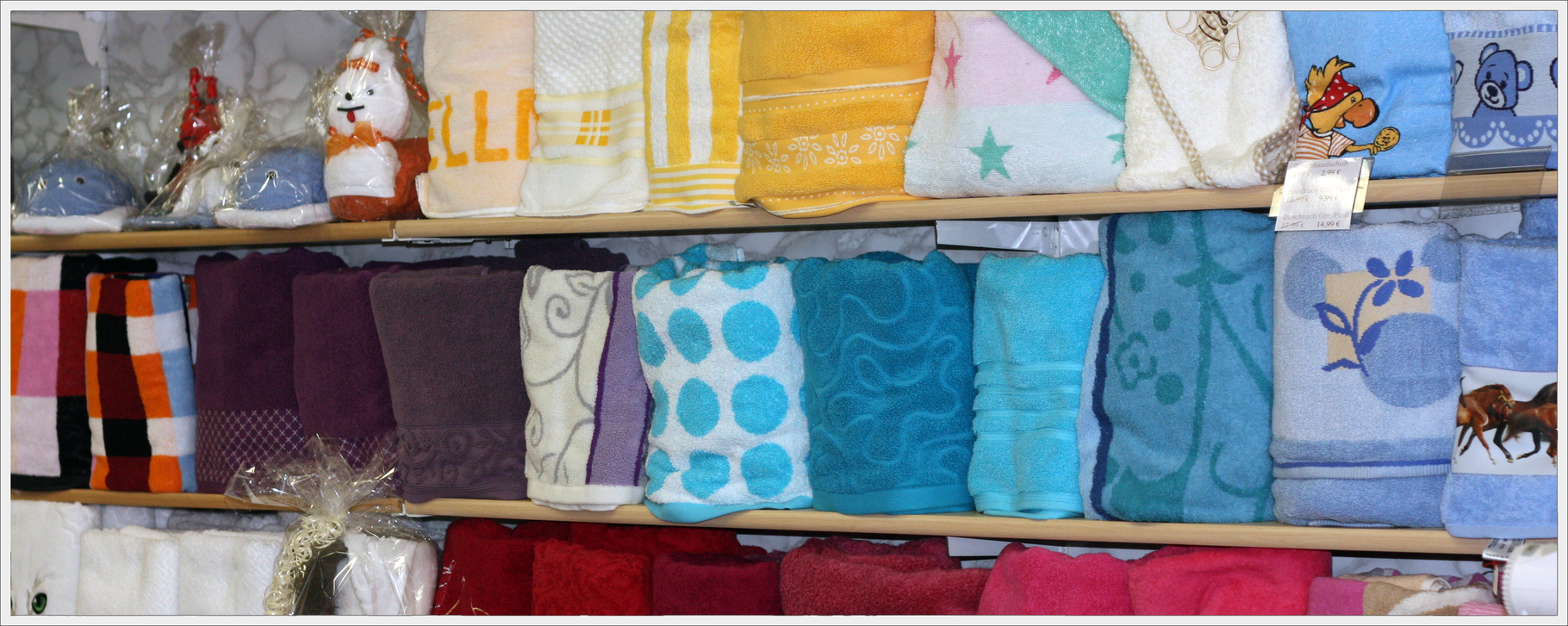 Handtücher der Fa. Herka