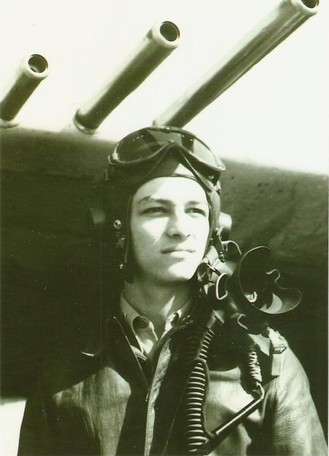 "Lt Col Eliel ""Arch"" Archilla, who flew the missions (Photo courtesy Higgins Family Collection)"