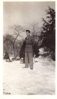 Paul E. Cully in 1943 (courtesy Carol Denzinger daughter of Paul)