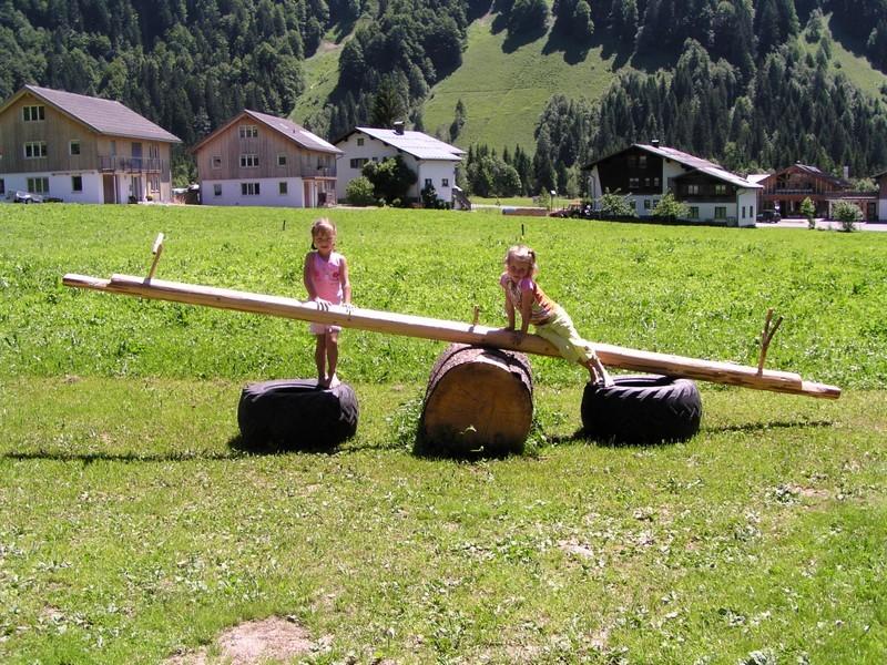 Urlaub am Bauernhof im Bregenzerwald lässt Kinderherzen höher schlagen.