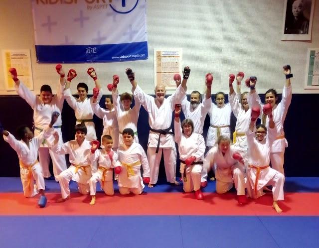 Photo ASPTT Karate KHV Roquemaure
