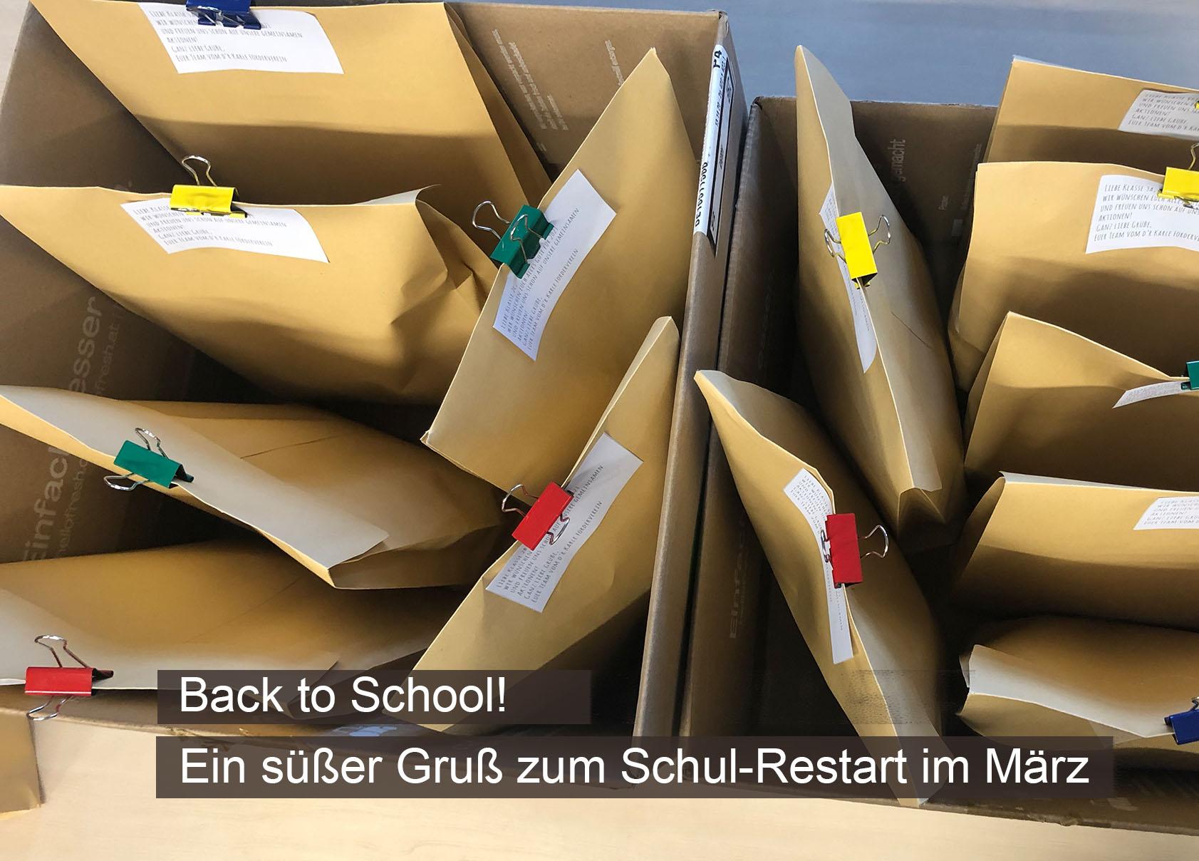 Back to School - und das Ende Februar