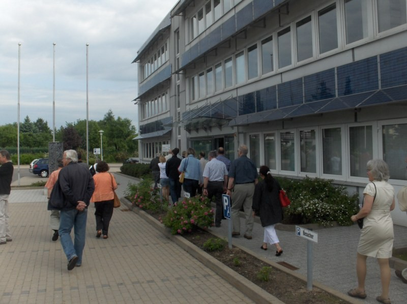 ... nur einem Standort des Unternehmens in Freiberg.