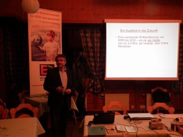 Vortrag Dieter Tausch (ENA): Wo verstecken sich die Energiefresser?