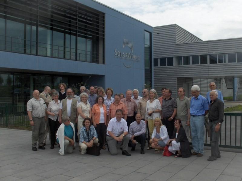 """Die 1. Besuchergruppe: Das """"Energiebündel Roth-Schwabach e.V."""""""