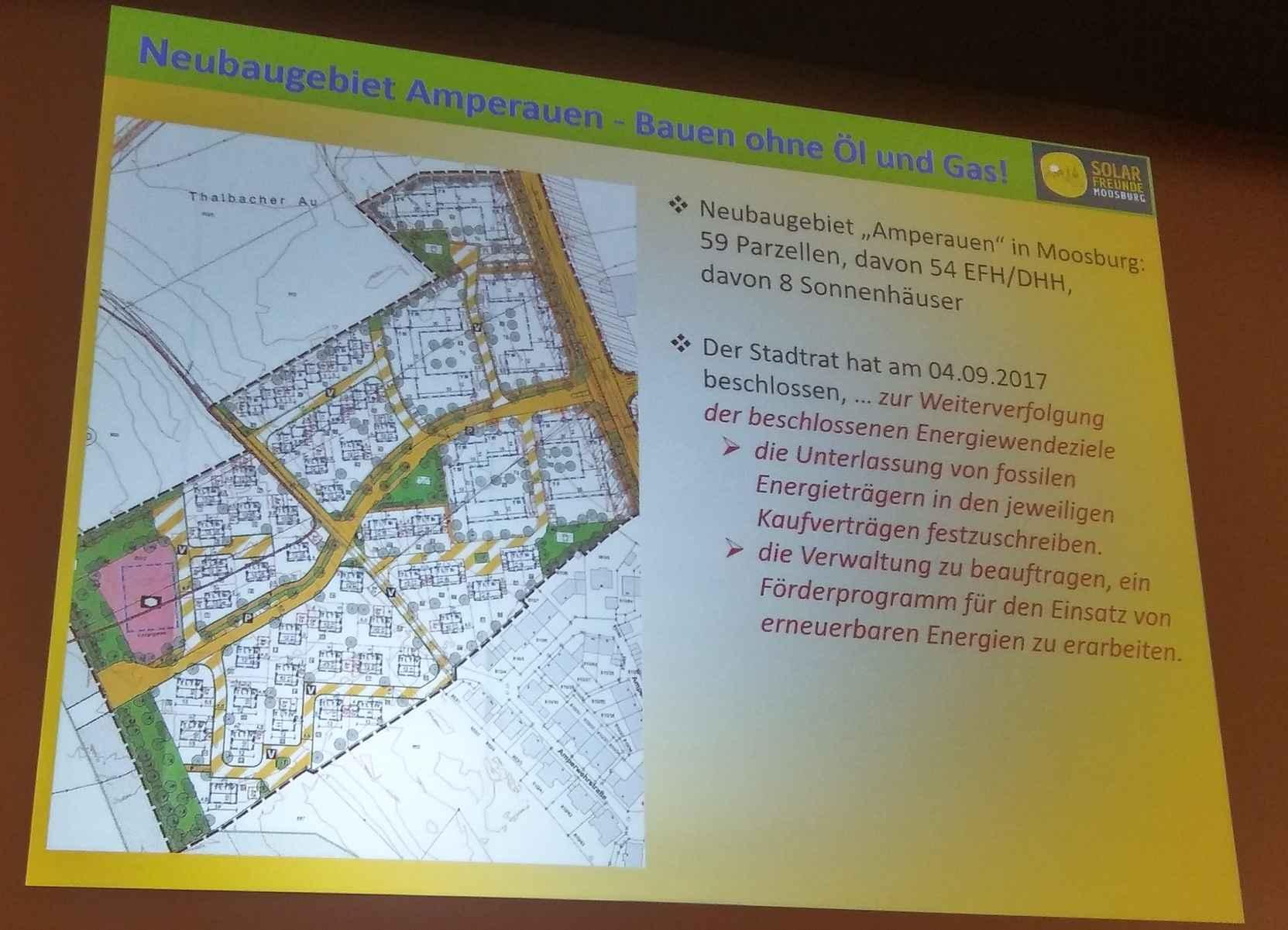 Immer mehr Kommunen ändern ihre Bebauungspläne ...
