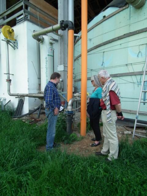 Die Biogasleitung führt 4,2 km in den Ort Wildpoldsried.