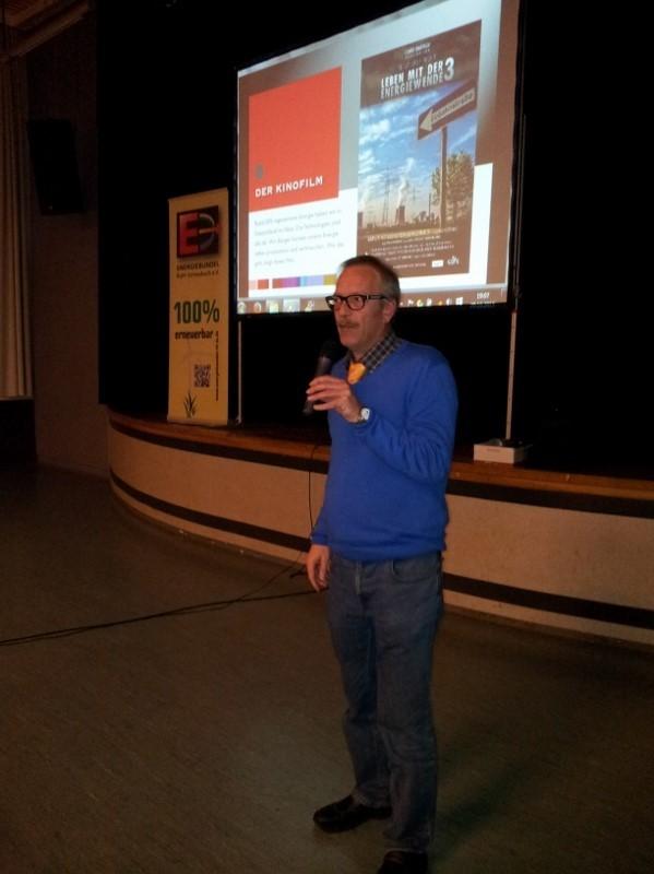 Stellt sich der Diskussion: Ortsbürgermeister Thomas Link