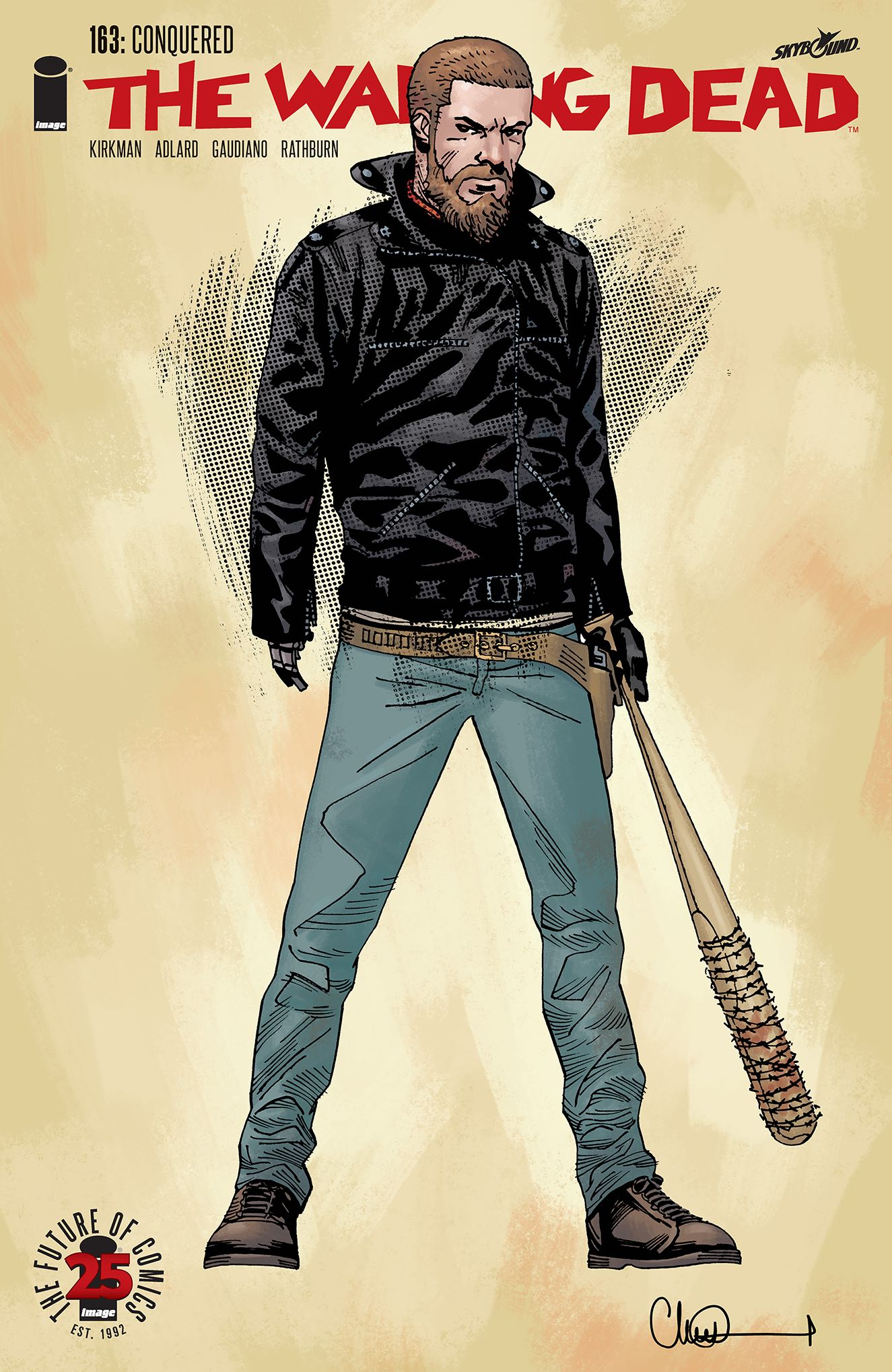 The Walking Dead 163-CoverB