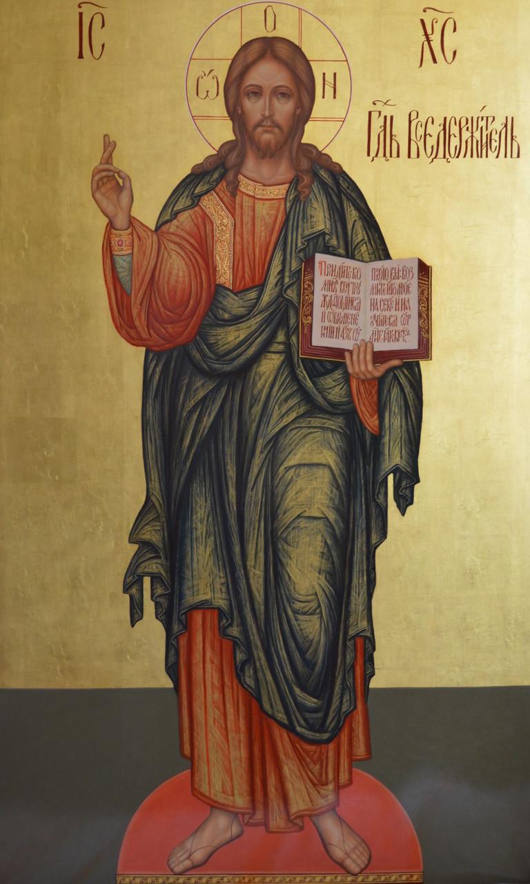 Образ Иисуса Христа Господь Вседержитель. Храмовая икона.