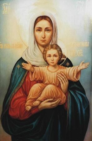 Пресвятая Богородица Леушинская.
