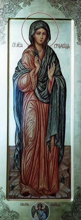 Образ святой мученицы Стефаниды. Мерная икона.