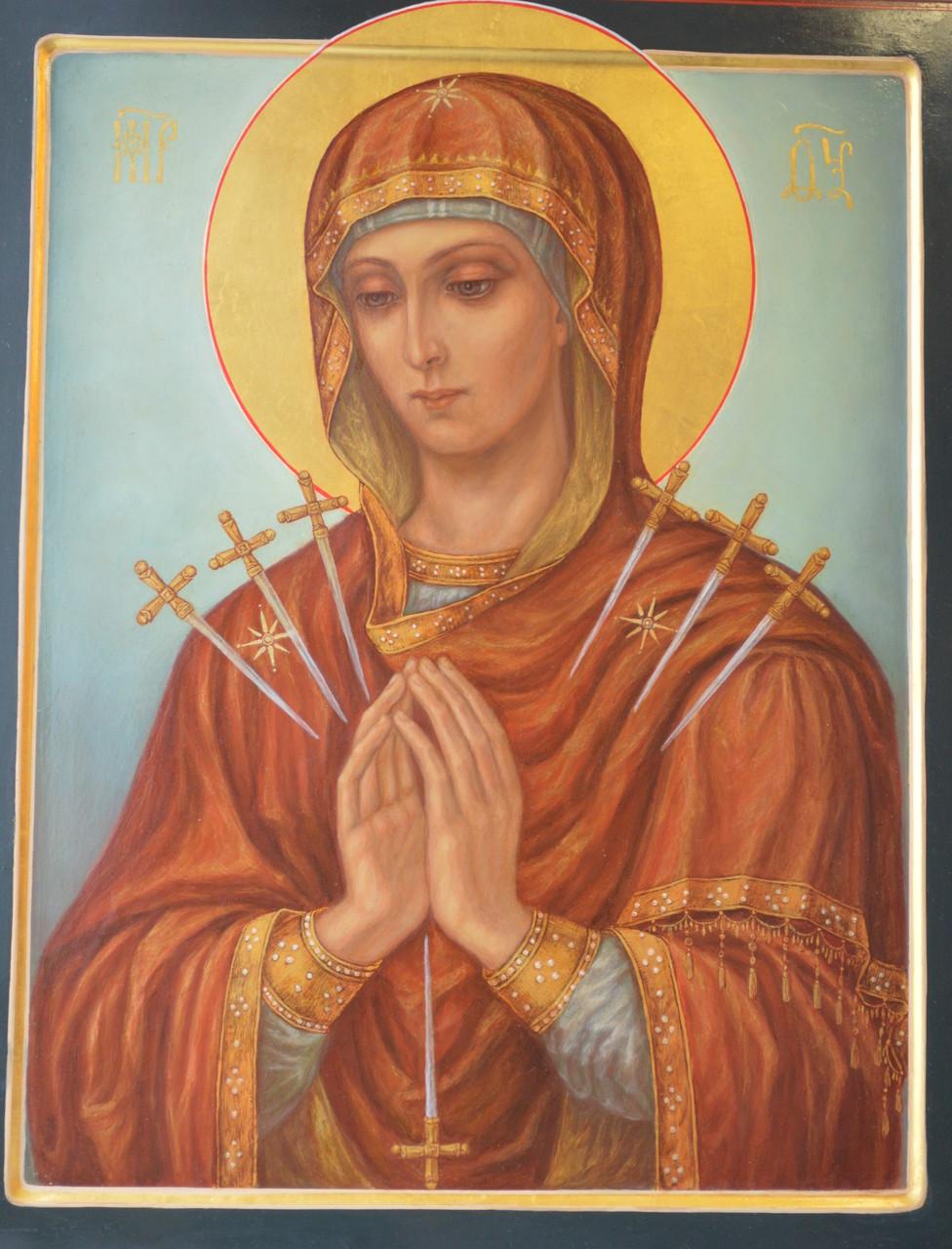 Образ Пресвятой Богородицы Умягчение злых сердец.
