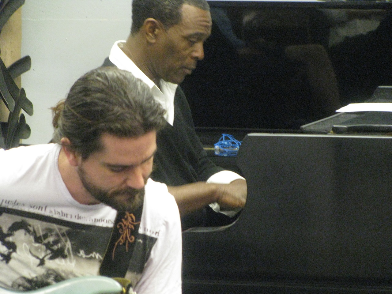 Matt Heulitt(L) and Rodney Franklin(R)