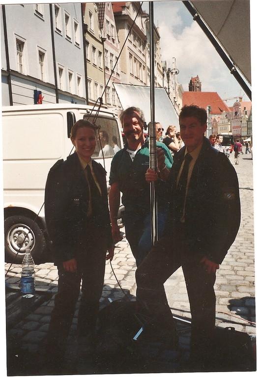 Filmaufnahmen in Landshut  mit  Stretchlimousine
