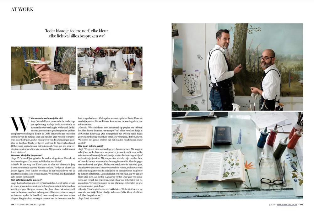 Een blik in het atelier van Snijder&CO in Rotterdam