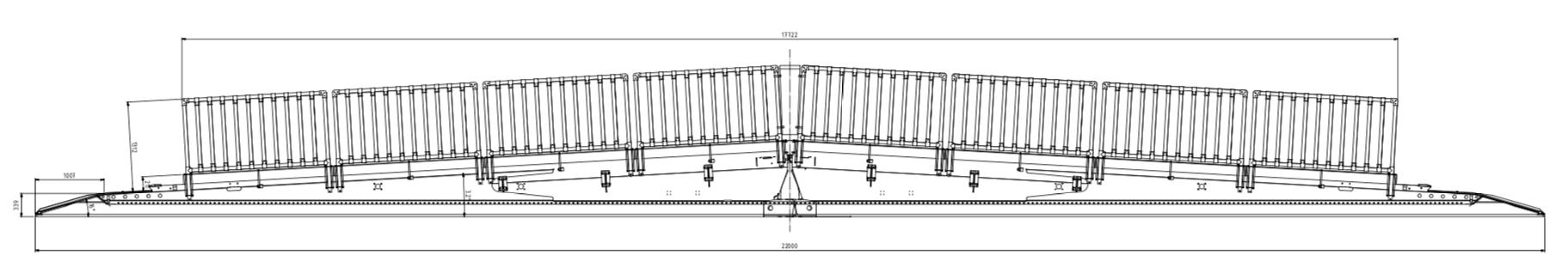 Technische Zeichnung MBS Typ XL
