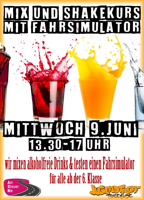 Mix und Shakekurs mit Fahrsimulator 9. Juni