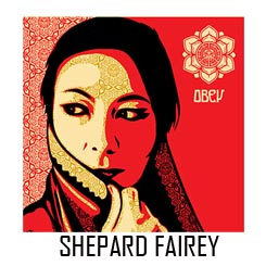 Shepard fairey Obey Giant
